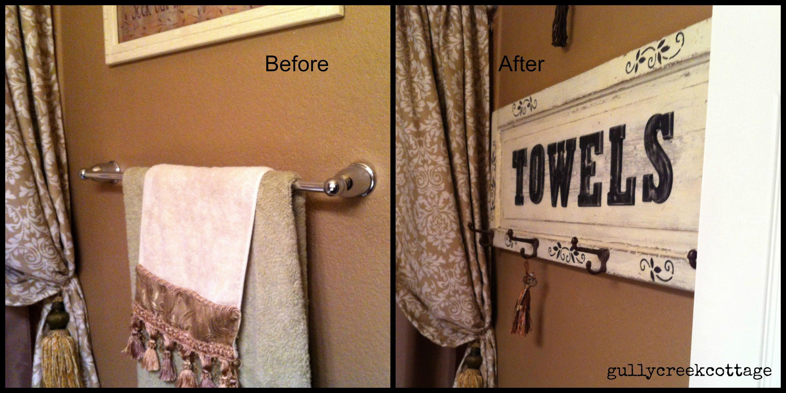 no ordinary towel bar-collage