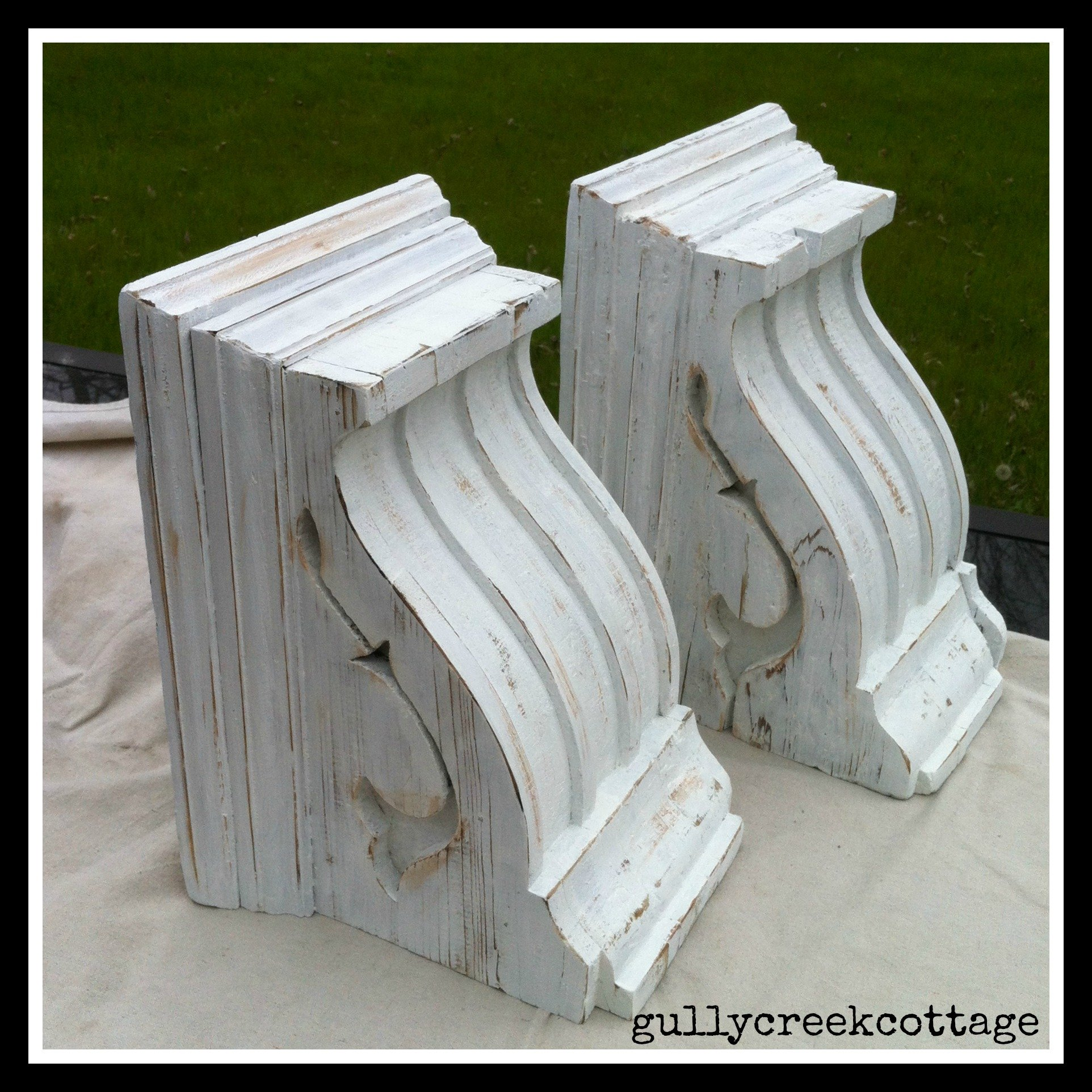 revamped corbels-after