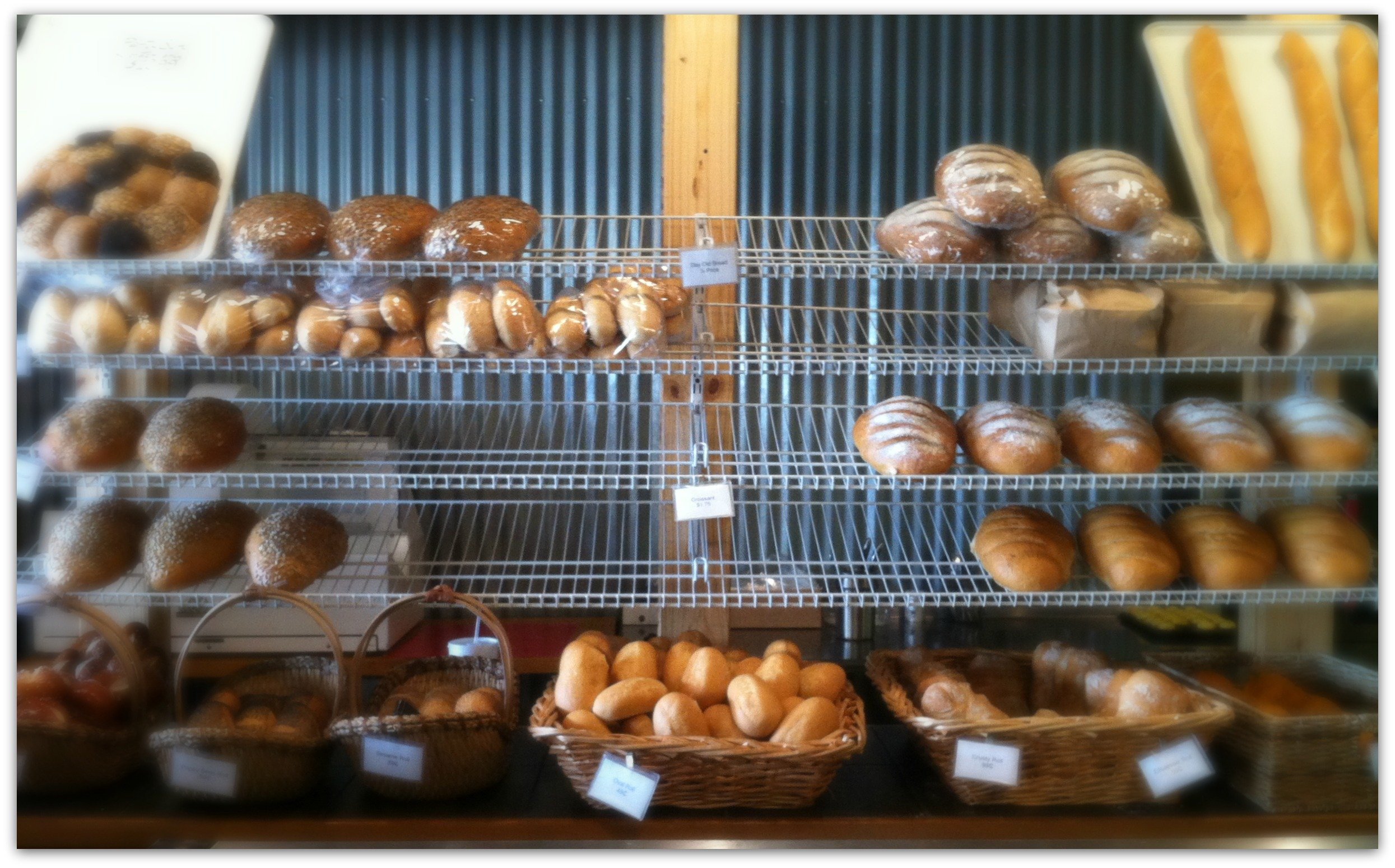 the 4 foot fork and a life's lesson-bakery