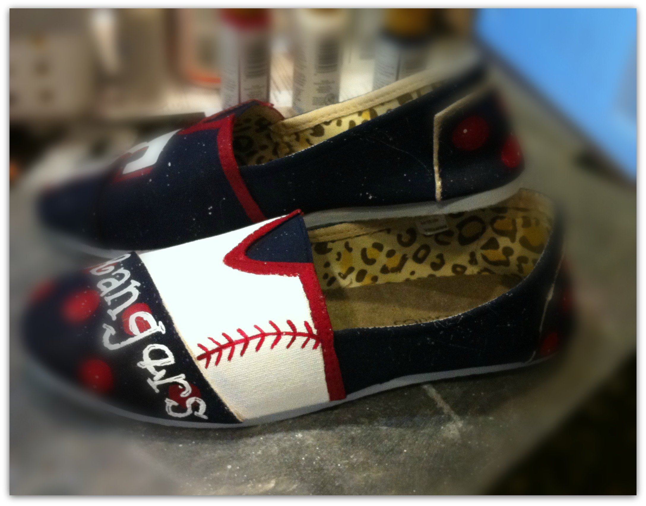 baseball team shoe giveaway-canvas-shoes
