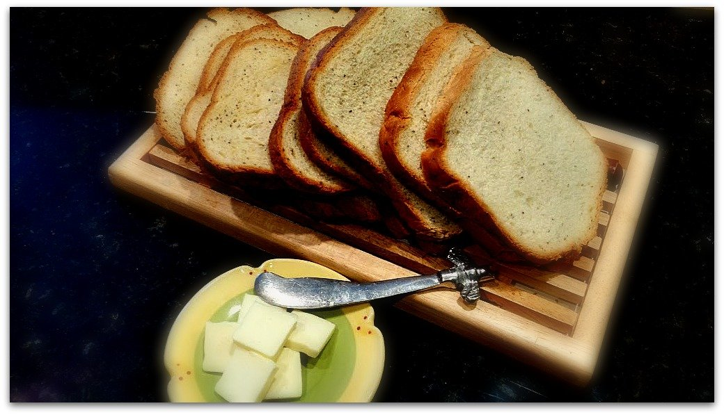 A slice of bread with healthy on it, please!-homemade