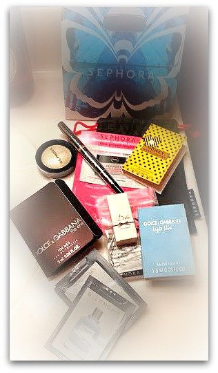 free Makeup Lesson-goodies