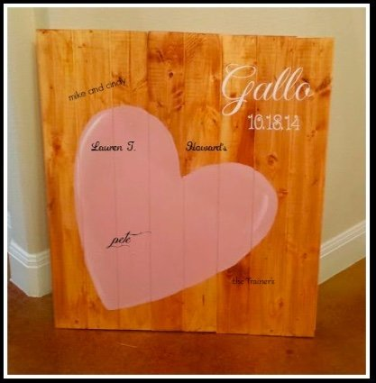 SIGNificance of a SIGN-wedding-guest-board-diy