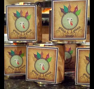 Turkey Gift Tag printable