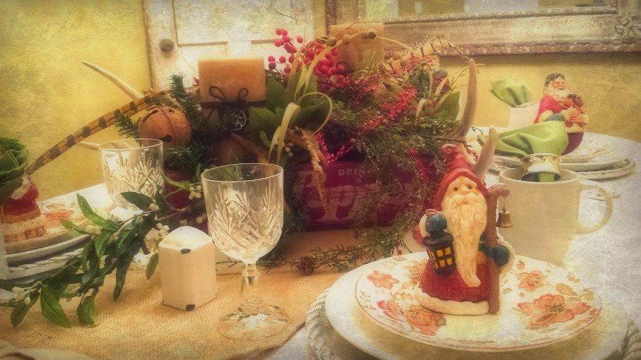 Vintage Christmas House Tour