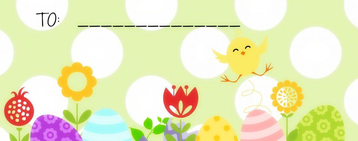 Easter tags- free printable