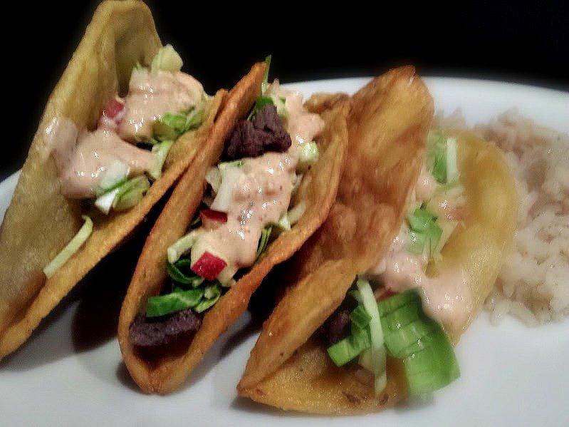 I'm in a love affair-taco-filled