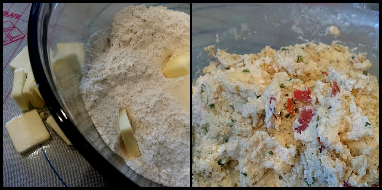 prosciutto pear scones-scones