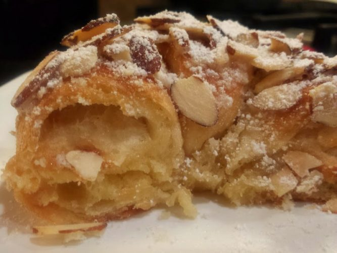 almond croissants-bakery