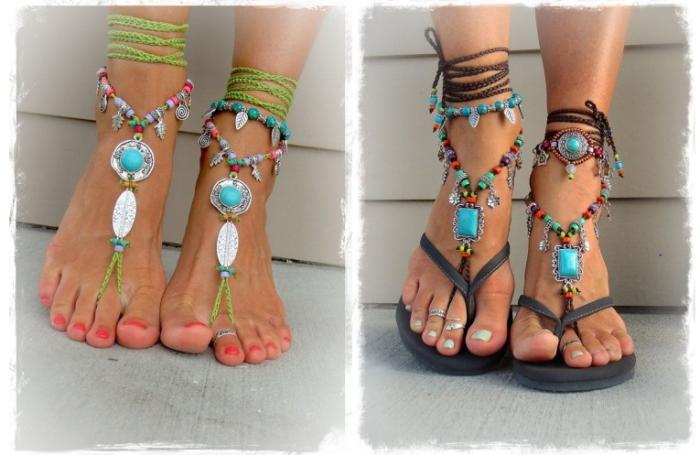 Spring sandals & foot scrubs- sandals
