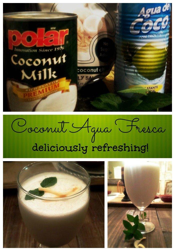 going coconut agua fresca wildly delicious