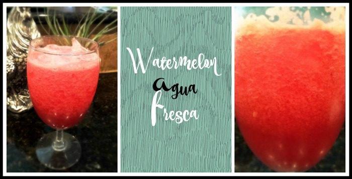 watermelon agua fresca super delicious and refreshing