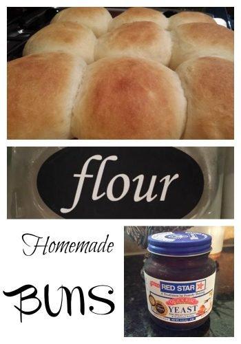 homemade buns