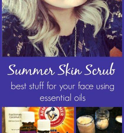 Summer Skin Scrub