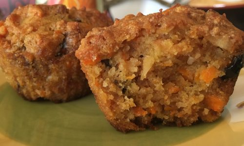 Best ever Gluten Free Carrot Muffins