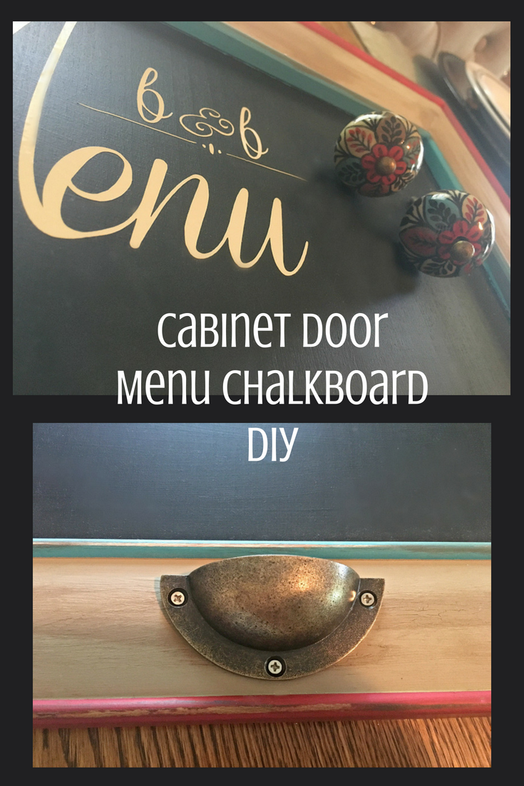 How To Make A Menu Chalkboard-pin