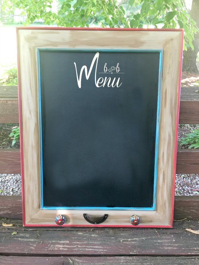 HOW TO MAKE A MENU CHALKBOARD-final