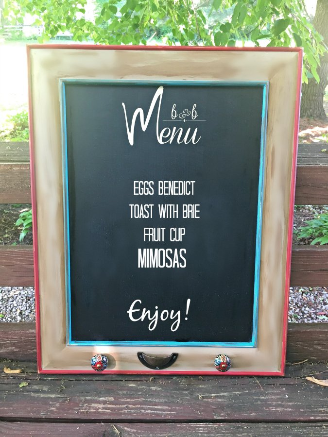 HOW TO MAKE A MENU CHALKBOARD-menu-list