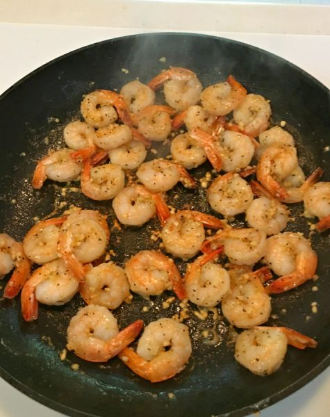 Delicious Pineapple Shrimp Bowl-shrimp