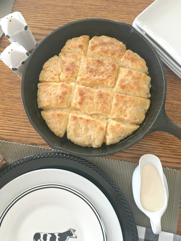Cast Iron Delicious-ness-biscuits