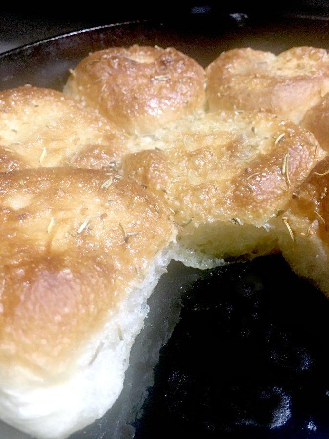 Cast Iron Delicious-ness-bread