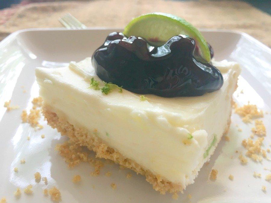 Refreshing Summer Dessert (key lime cheesecake)-dessert