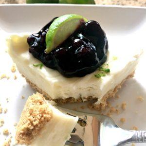 Refreshing Summer Dessert (key lime cheesecake)