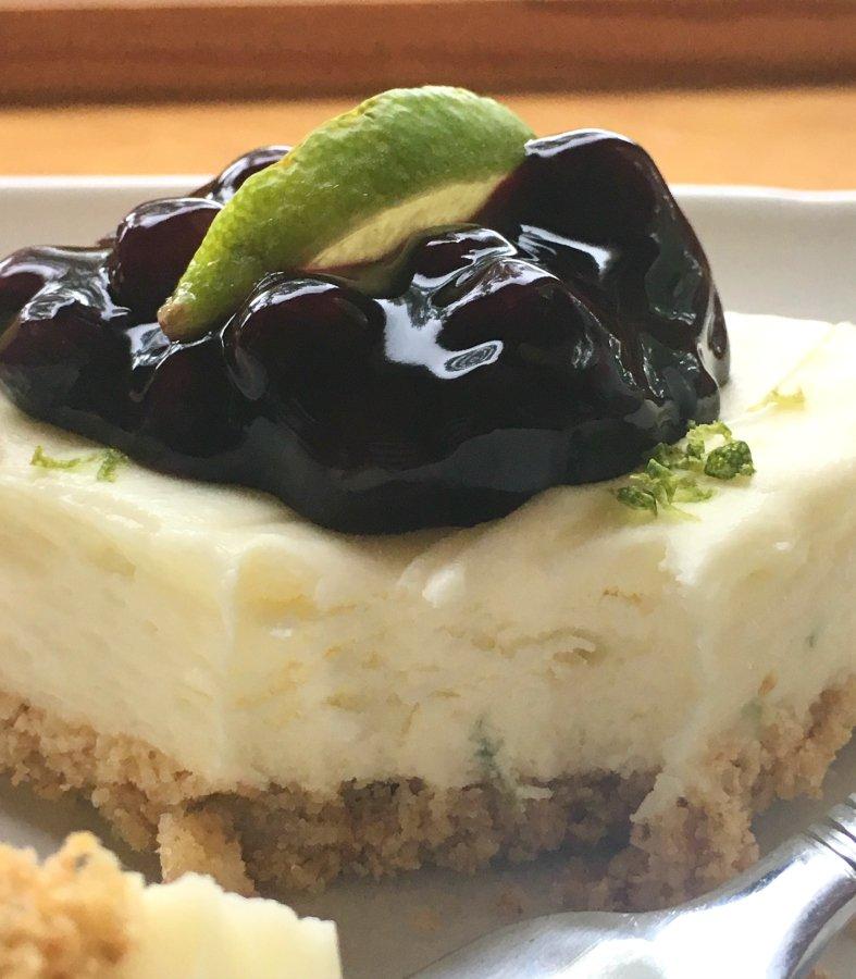 Refreshing Summer Dessert (key lime cheesecake)-creamy