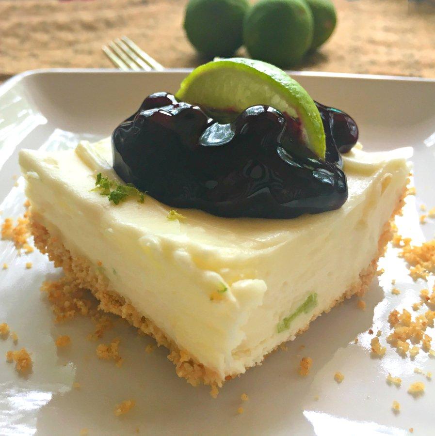 Refreshing Summer Dessert (key lime cheesecake)-easy