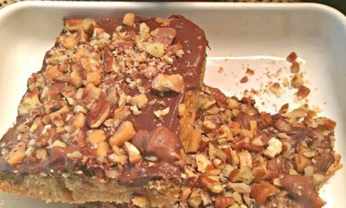 Heath toffee bit bars – easy snack