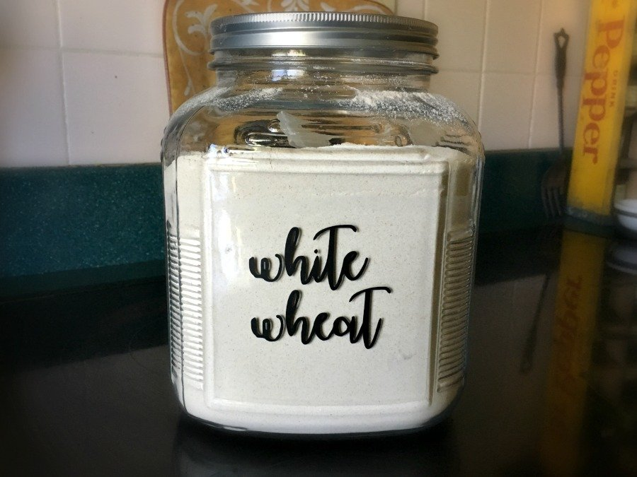 Cute font pantry labels- let's get organized-gullycreekcottage-wheat