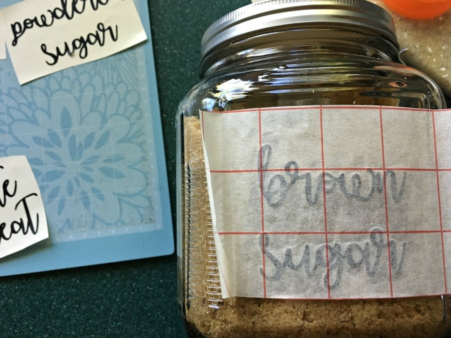 Cute font pantry labels- let's get organized-gullycreekcottage-peel