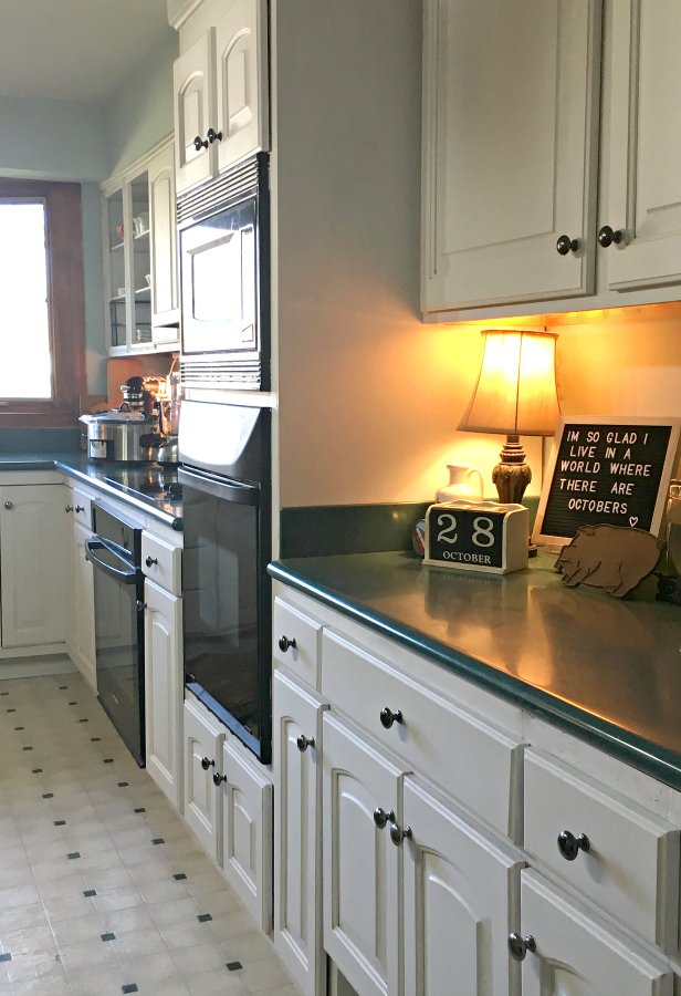 kitchen reveal: smart budget improvements with awesome lighting-gullycreekcottage-color