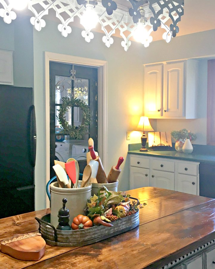 kitchen reveal: smart budget improvements with awesome lighting-gullycreekcottage-perfect