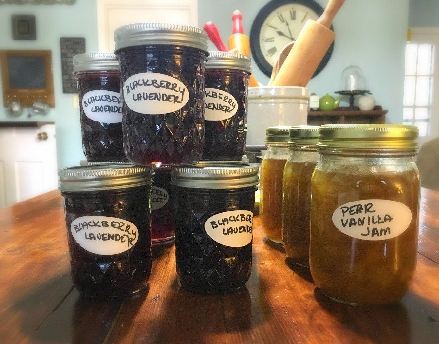 Lavender tastes so good y'all-gullycreekcottage-jams