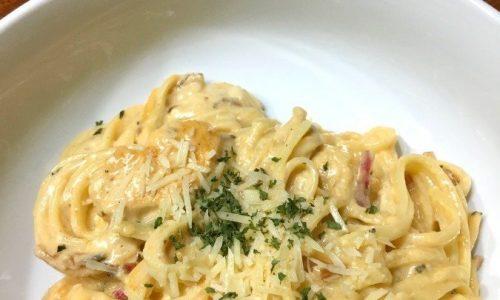 Easy Buffalo Chicken Pasta