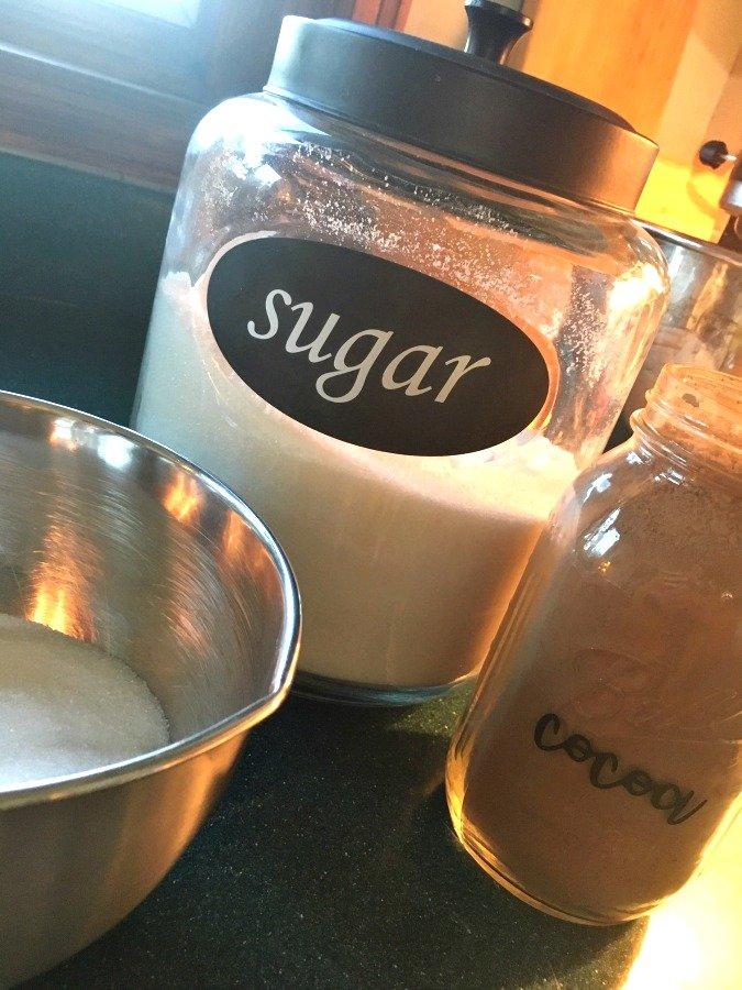 chocolatey dessert topping-gullycreekcottage-ingredients