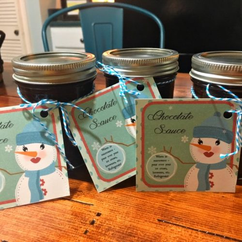 chocolatey dessert topping-gullycreekcottage-jars