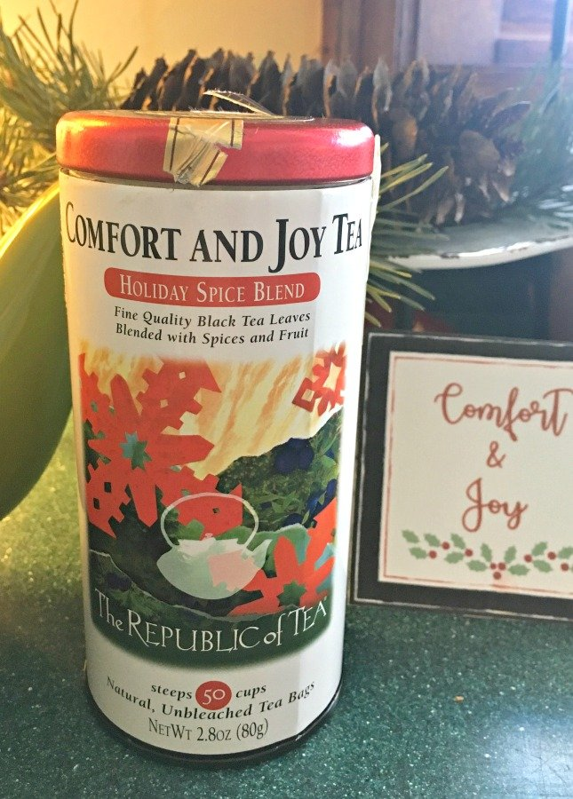 COMFORT and JOY (holiday tea)-gullycreekcottage-hot
