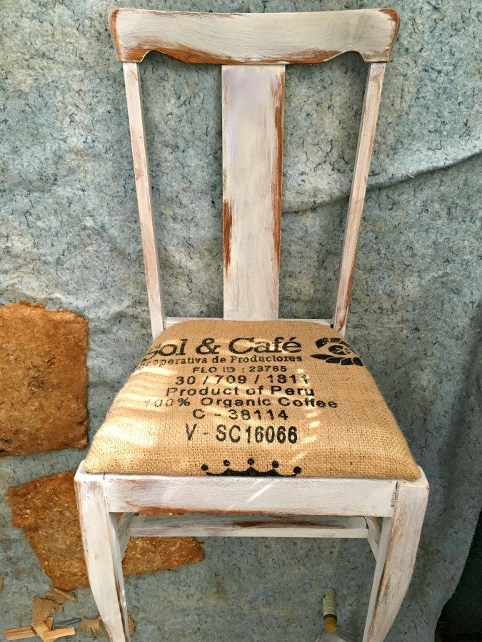 Farmhouse Style Chair Makeover-gullycreekcottage-first