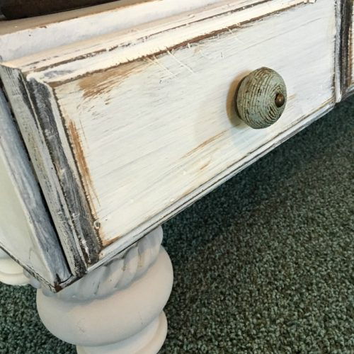 hutch makeover with bun feet-gullycreekcottage-pin