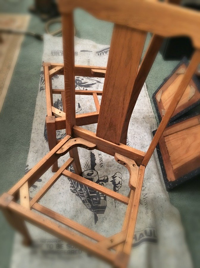 Farmhouse Style Chair Makeover-gullycreekcottage-bottomless