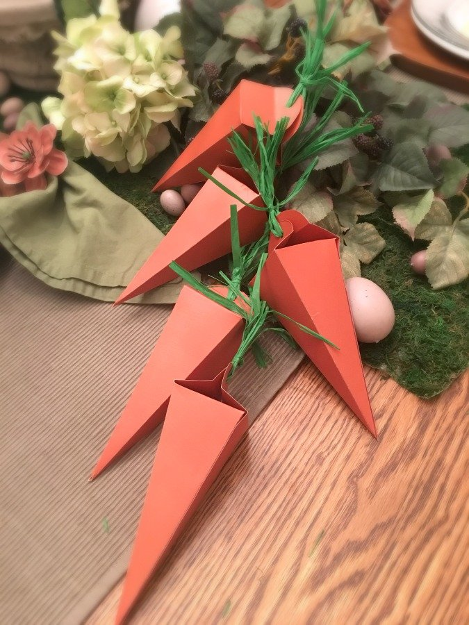Easy Easter Craft (DIY carrot box)-gullycreekcottage-boxes