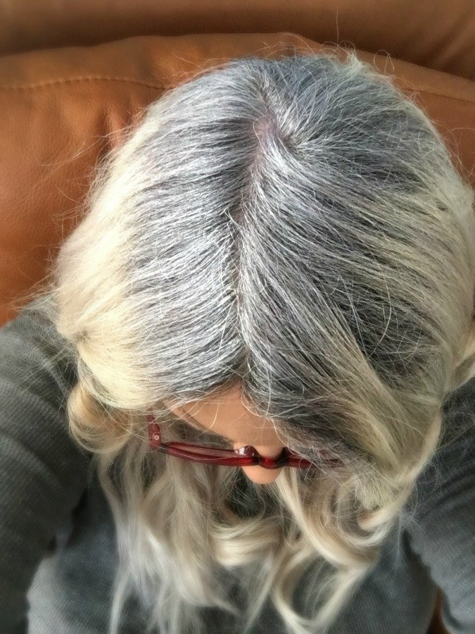 maintaining fabulous gray hair-gullycreekcottage-roots