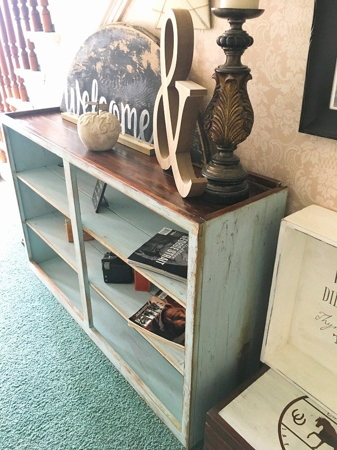 janky cabinet gets a makeover-gullycreekcottage-after