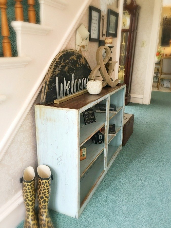 janky cabinet gets a makeover-gullycreekcottage-done