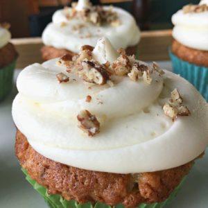 Delicious Spring Hummingbird Cupcakes