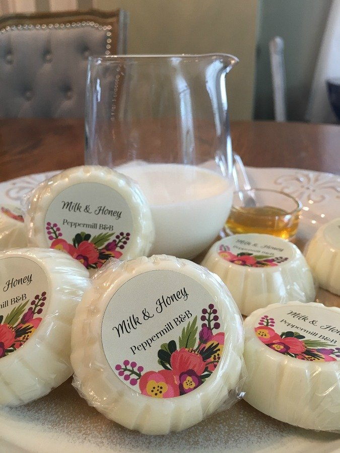 Homemade soaps from organic ingredients-gullycreekcottage-honey