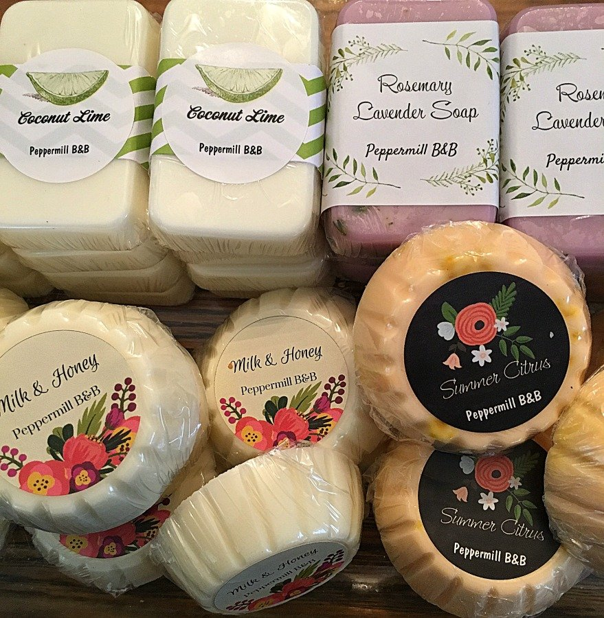 Homemade soaps from organic ingredients-gullycreekcottage-soaps