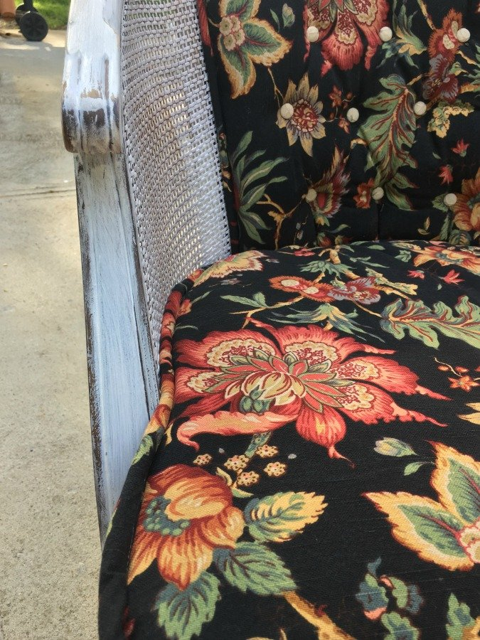 French Country Barrel Chair DIY-gcc-closeup